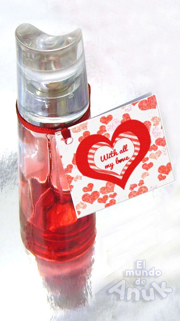 Minitarjeta de San Valentin. Valentine's day Minicard.