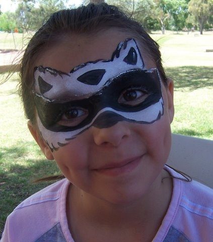 face painting raccoon - Google Search