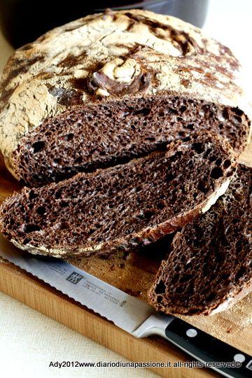 Qualcosa che non esitiamo a definire una ghiottoneria. Ady ci insegna come fare il pane al cioccolato fondente.