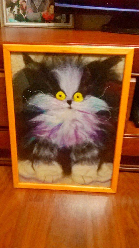 Картина Пушистый кот