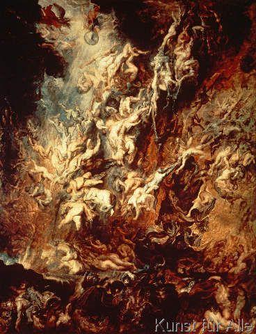 Peter Paul Rubens - Der Höllensturz der Verdammten
