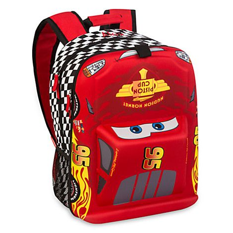 1c57998f8f2 Lightning McQueen Backpack - Personalizable