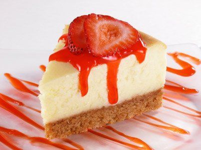 FITNESS CHEESECAKE S JAHODAMI