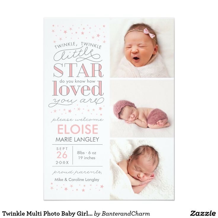 44 best Birth Announcement Cards  Postage images on Pinterest