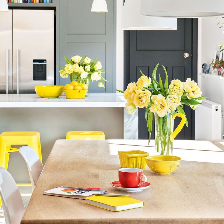 1000+ Ideas About Yellow Kitchen Accents On Pinterest