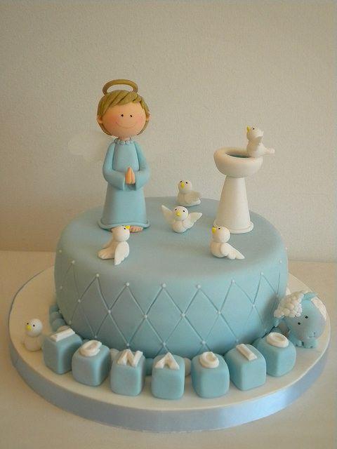 Torta Bautismo by Pastelera Bakery Shop, via Flickr