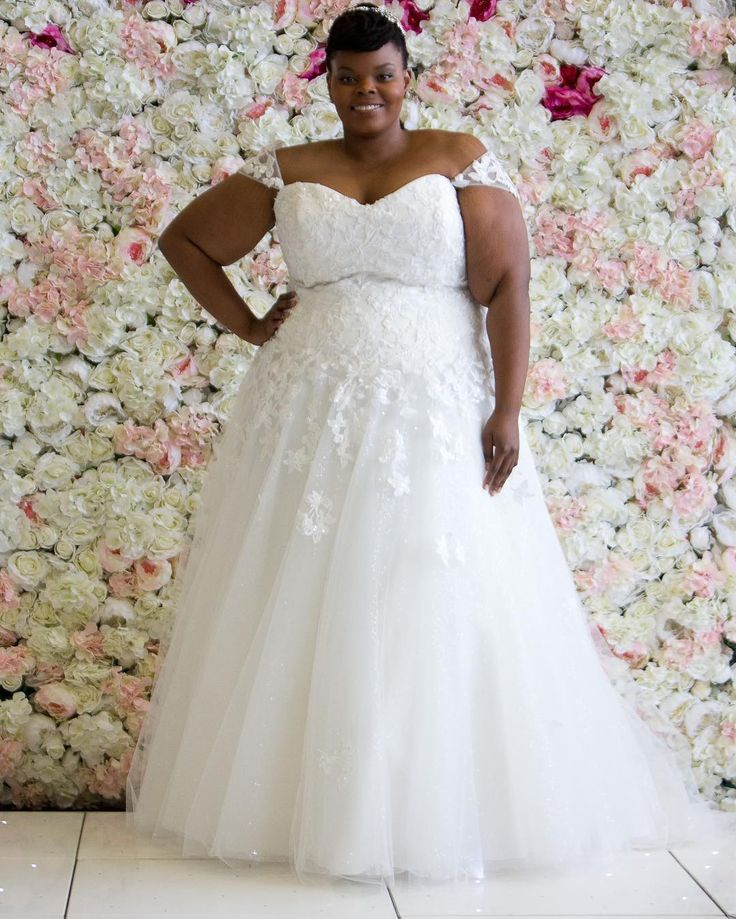 2359 best images about plus size wedding dresses from for Custom made wedding dresses dallas
