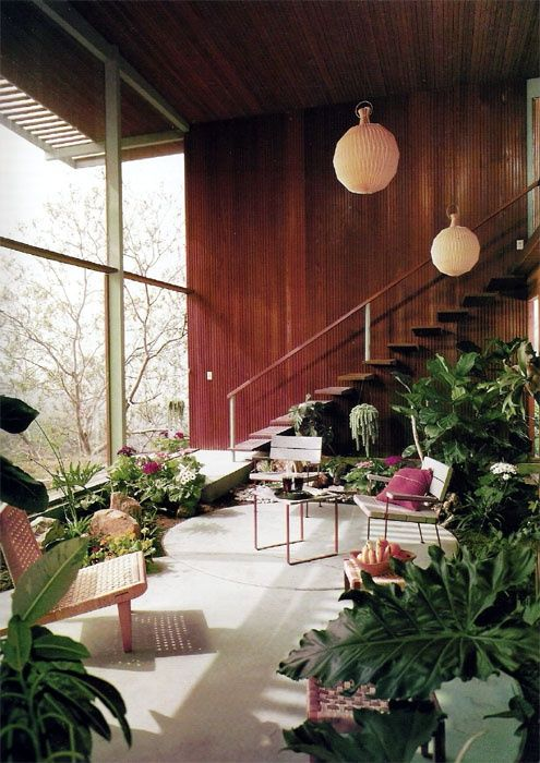 House, Los Angeles,  mid century modern / Knauer House, Los Angeles, 1954…