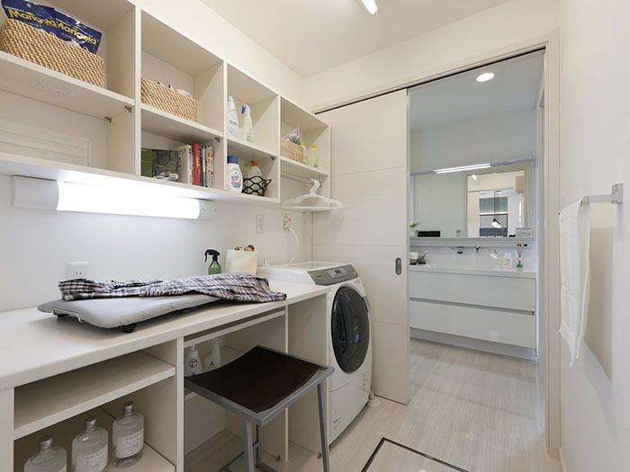 家事コーナー 洗濯機 イメージ