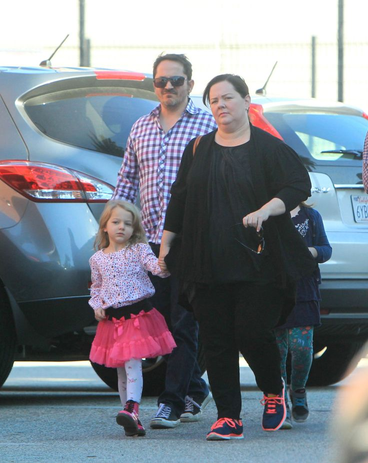 Melissa McCarthy and Husband, Ben Falcone, Spotted With Daughters: Georgette and Vivian at a Birthday Party - http://site.celebritybabyscoop.com/cbs/2014/12/07/daughters-georgette-birthday #BenFalcone, #GeorgetteMccarthy, #MelissaMccarthy, #MelissaMccarthyDaughters, #VivianMccarthy