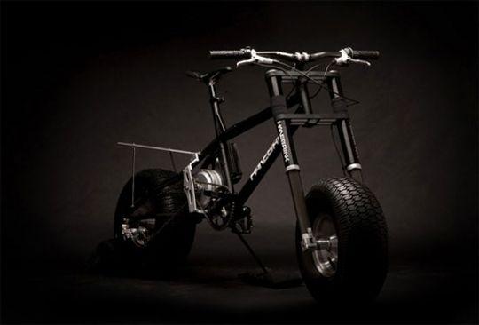 Electric assist all terrain bike.