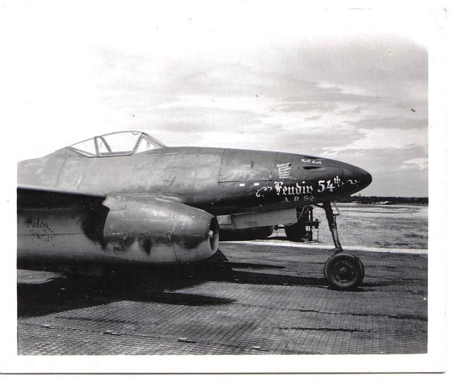ME 262 W.Nr. 113332 (Julie)