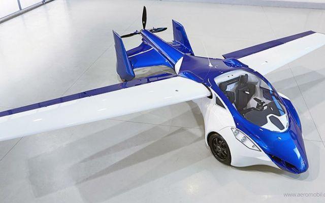 La prima auto volante? AeroMobil promette la vendita nel 2017 #auto #volante #aeromobil