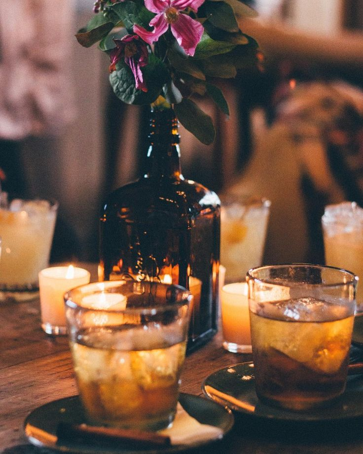 Warming drinks for colds days. A smoked rusty nail. Scotch whiskey smouldering cinnamon and lapsing syrup #sohofarmhouse