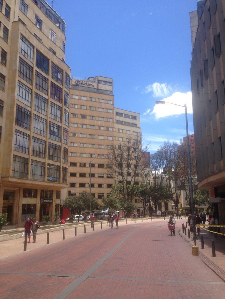 Av. Jimenez en #Bogota cerca de la oficina @bogotapass