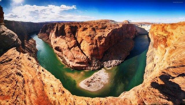 Glen Canyon Dam/  Arizona-Abd
