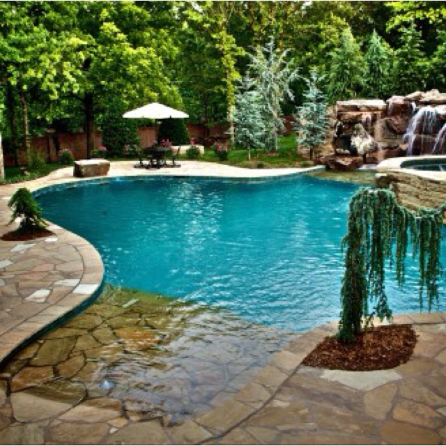 Traditional Garden With Pool: Fountains, Pools & Ponds Images On Pinterest