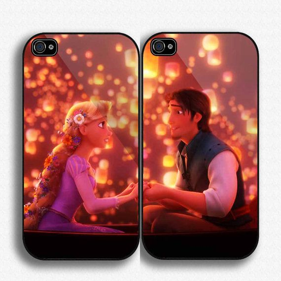 Case iphone 4 and 5 for Disney Tangled Love