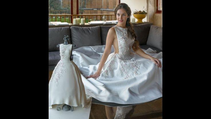 Bolo vestido de noiva