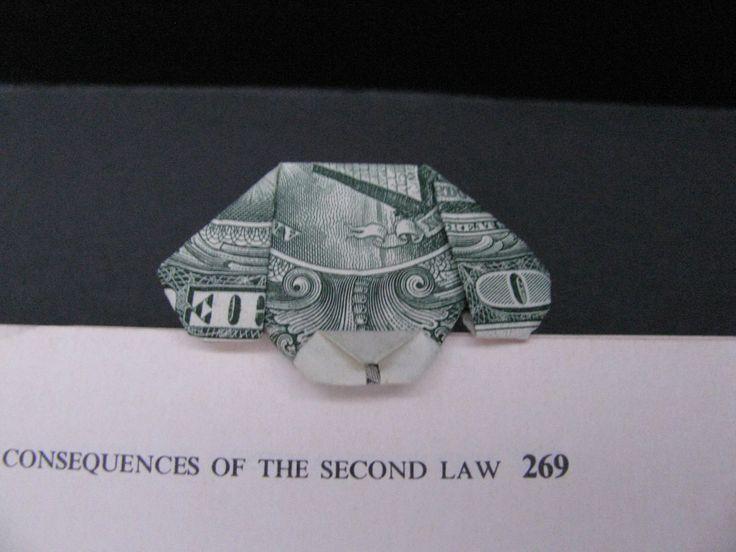 Puppy Bookmaker - Money Origami