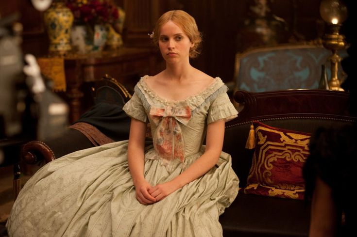 Felicity Jones as Nelly Ternan in The Invisible Woman (2013)