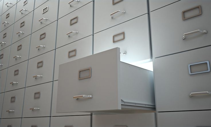 How to Paint a Metal File Cabinet-Need to do this