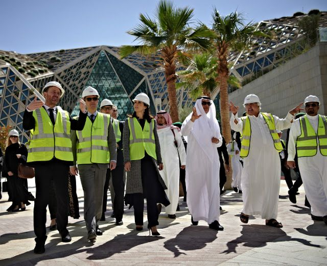 1 March 2016 - Visit to the King Abdullah Financial District, Riyadh