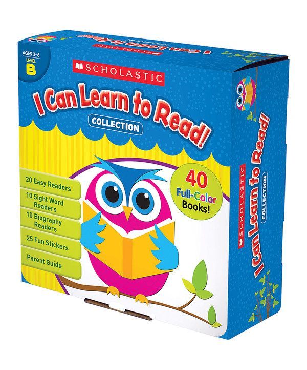 Look at this I Can Learn to Read! Level B Boxed Paperback Set on #zulily today!