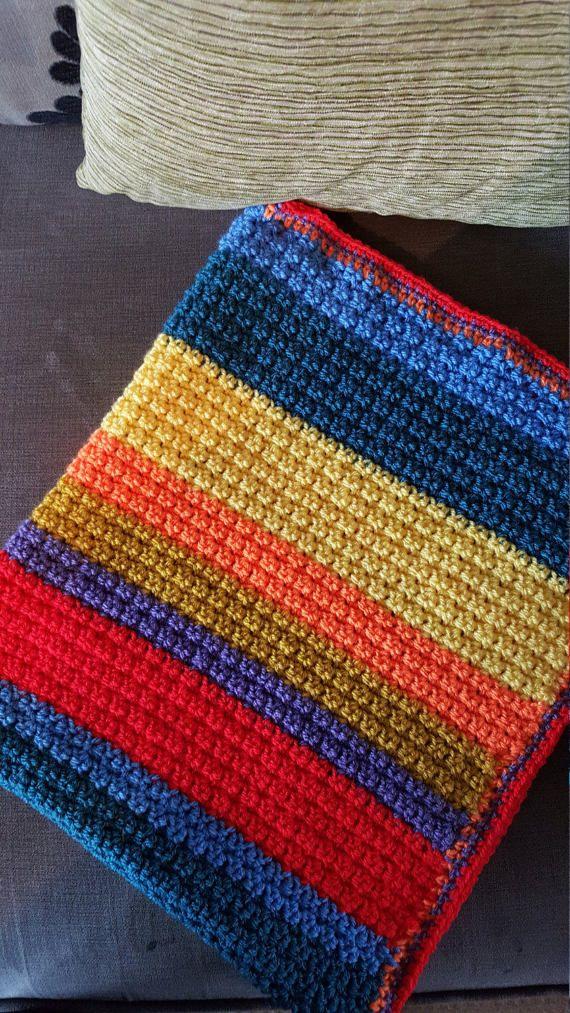 Hey, I found this really awesome Etsy listing at https://www.etsy.com/uk/listing/517099837/crochet-rainbow-blanket-rainbow-blanket