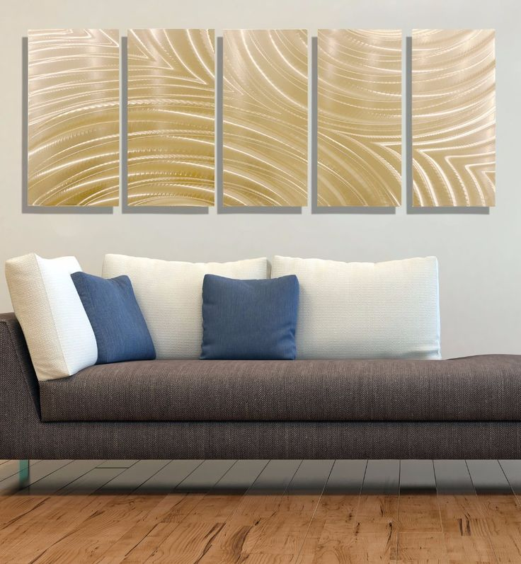 Modern Abstract Decor Copper Wall Touch Of Modern Wall Art
