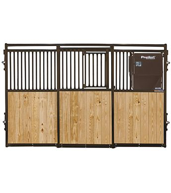 Priefert Premier Stall Front W Feeder 12 Ft Stall Fronts Wood Bars Stall