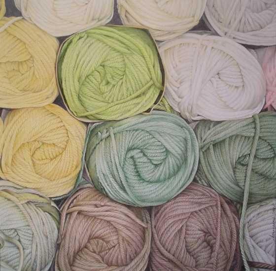 Knotten wol