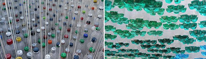 (pop)culture, parking canopy in Lincoln – United States (2012). Diseño, Garth Britzman. Fotografías, Garth Britzman