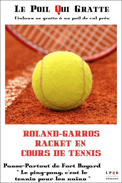 Hors-Série Roland-Garros : Racket en cours de tennis #rolandgarros #raquette #victime