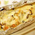 鮭ときのこのちゃんちゃんチーズホイル焼き by AyakoOOOOO