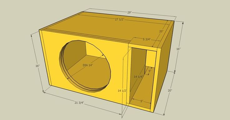 25 best ideas about subwoofer box design on pinterest for L ported sub box design