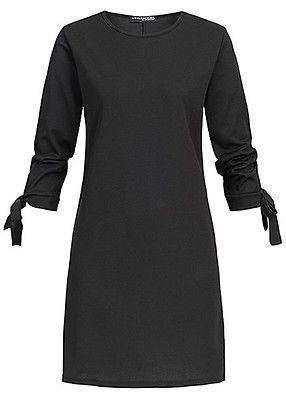 6f41aa77bd0be0 Styleboom Fashion Damen Bow Sleeve Dress schwarz - Art.-Nr.  19026055
