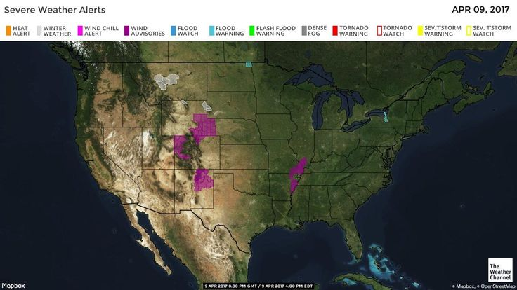 US Severe Weather Alerts