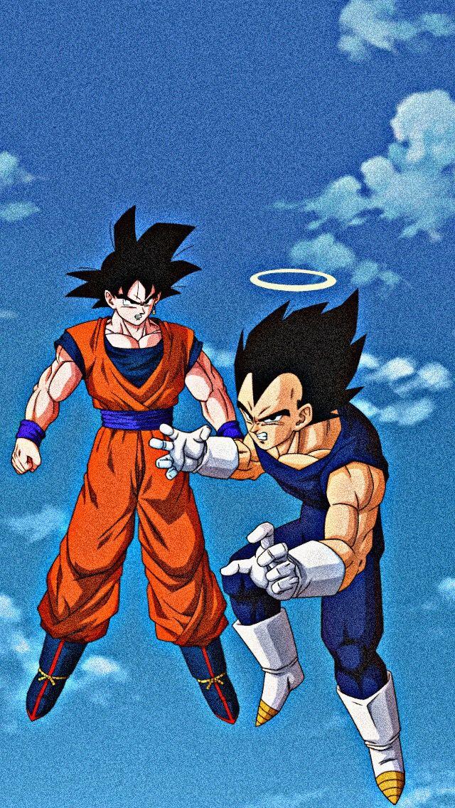 Goku Y Vegeta Dbz Muertos Aureola Dbs Db Anime Dragon Ball Super Dragon Ball Goku Dragon Ball Wallpaper Iphone Blue wallpaper goku and vegeta