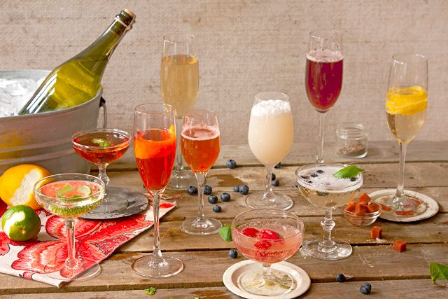 Perfect Champagne Brunch Cocktails