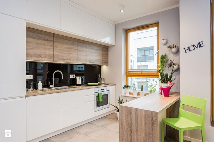 mieszkanie, Warszawa, Włochy - Kuchnia, styl nowoczesny - zdjęcie od Kameleon - Kreatywne Studio Projektowania Wnętrz