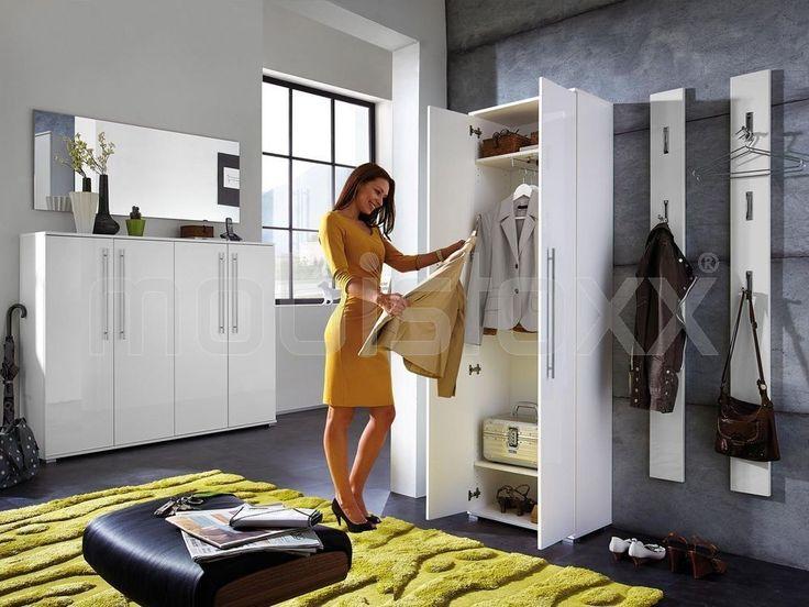 Armoire INES 2 portes blanc