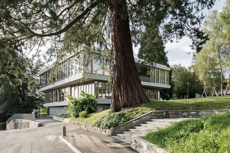 Menzi Bürgler Architekten, Beat Bühler · Extension of the Felsberg School complex