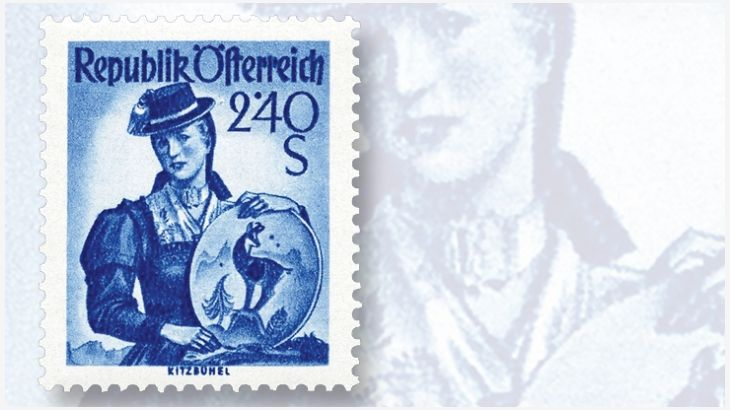 Austrian costumes on stamps, Sardinia's first postage stamps, Chicago man's trans-Atlantic solo flight record: Inside Linn's Stamp News