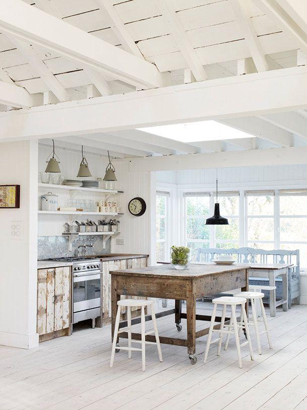 Die besten 25+ Kreidefarbe weiß Ideen auf Pinterest kalkbemalte - küchenmöbel selber streichen