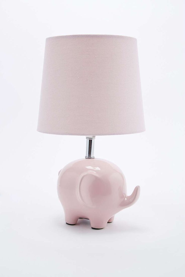 Elephant Lamp UK Plug in Pink - Urban Outfitters