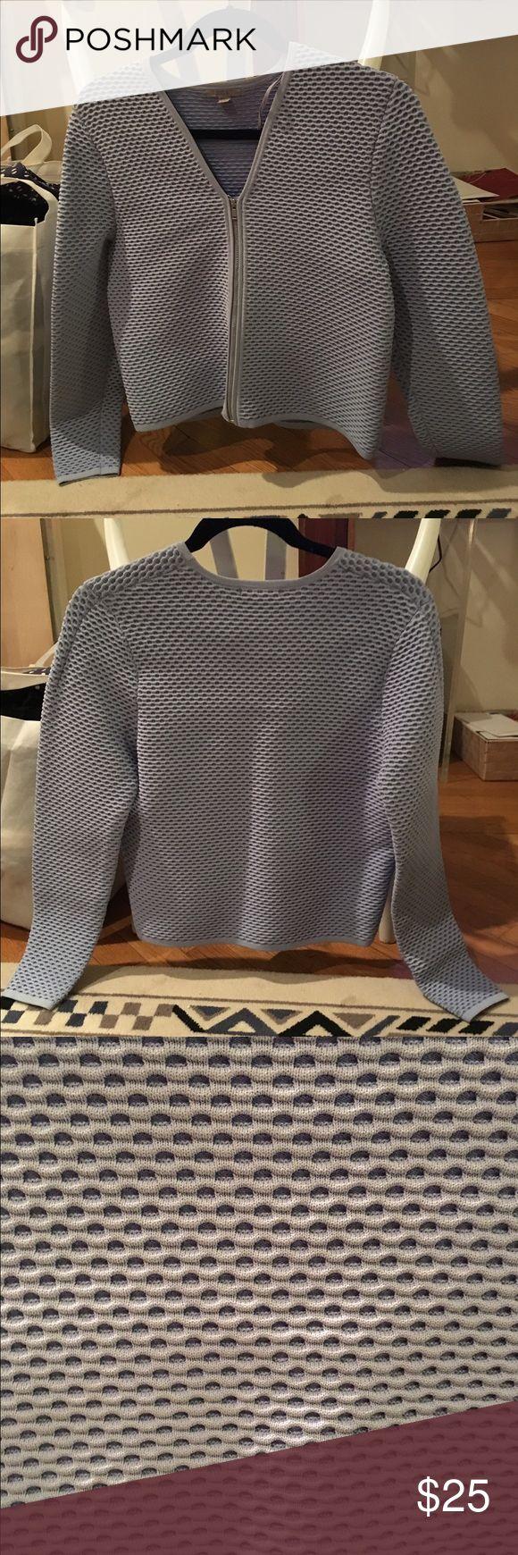 COS waffle light blue jacket, size S Amazing structural COS jacket in light blue. Size 4 (S). In near perfect condition. COS Jackets & Coats
