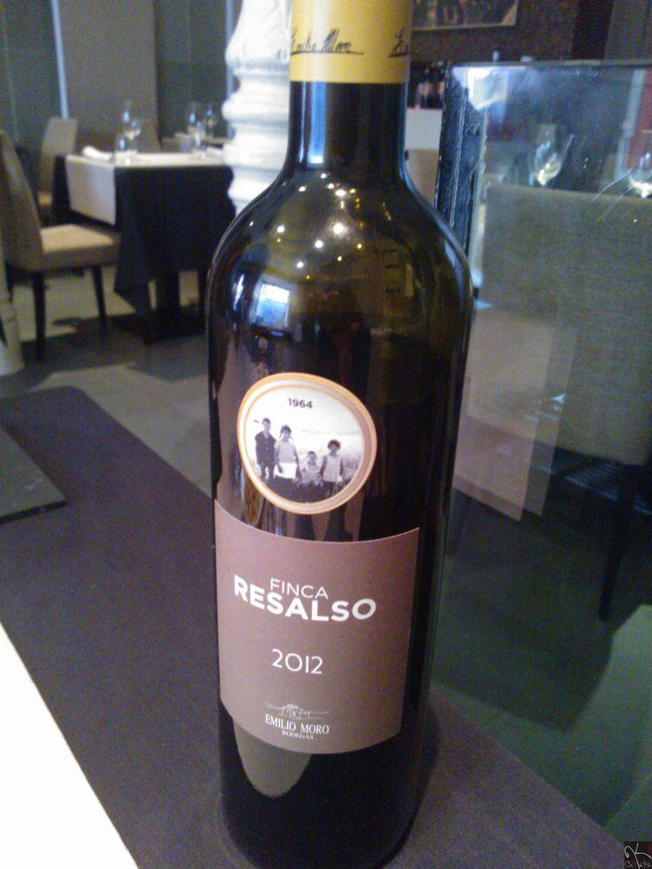 Vino Finca Resalso, Emilio Moro, Pesquera de Duero, Ribera del Duero.