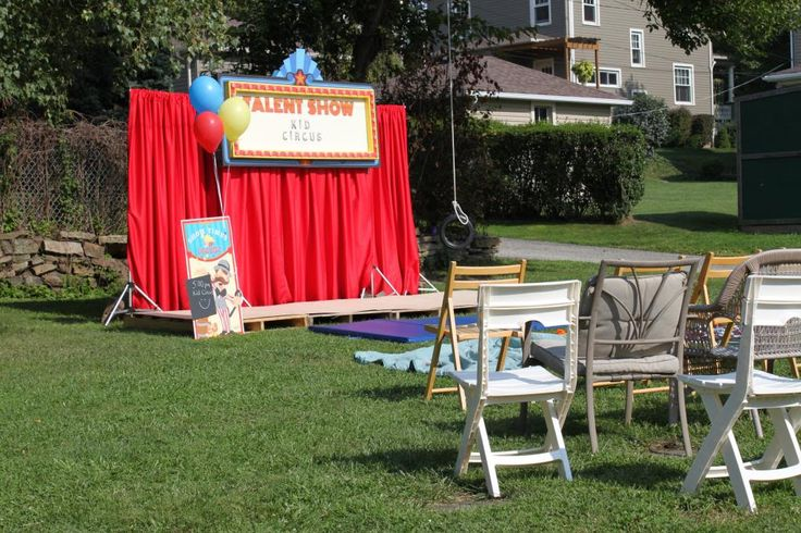 How To Throw A Neighborhood Carnival and Talent Show