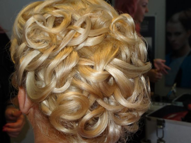 Bridal up-style by Leisa Graham at MHS, Newcastle NSW AU